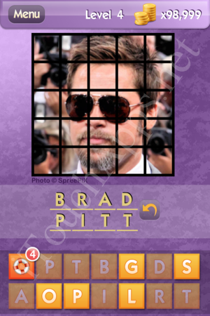 Who's the Celeb Level 4 Answer