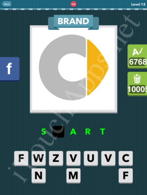 Icomania Level 416 Solution