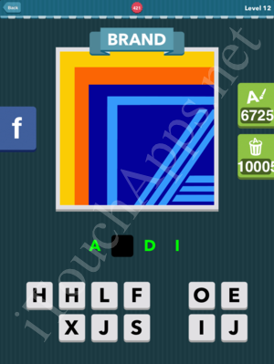 Icomania Level 421 Solution