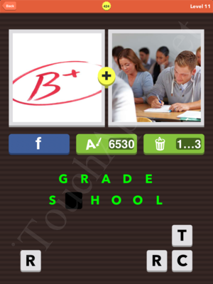Pic Combo Level 424 Answer