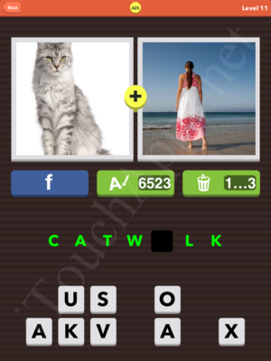 Pic Combo Level 425 Answer