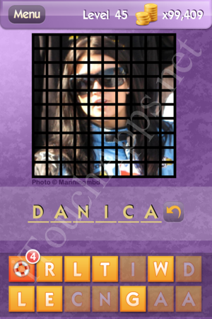 Who's the Celeb Level 45 Answer