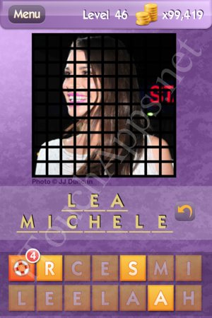 Who's the Celeb Level 46 Answer