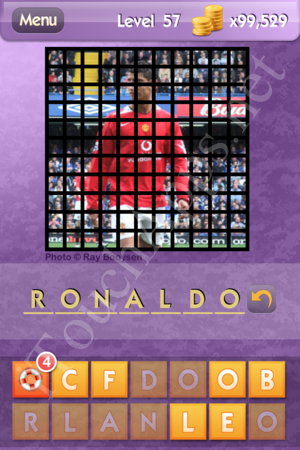 Who's the Celeb Level 57 Answer