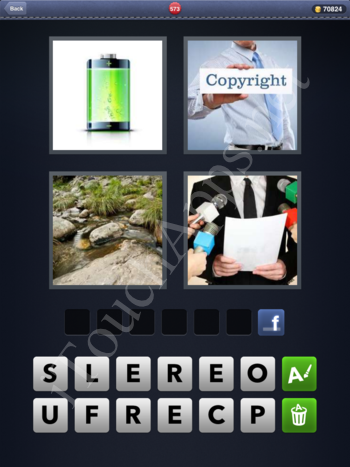 4 Pics 1 Word Level 573 Solution
