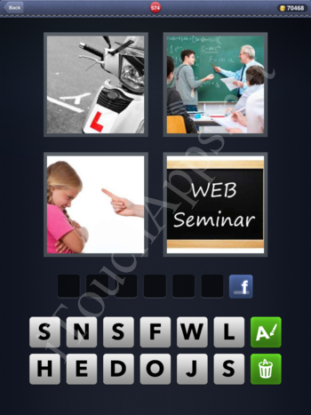 4 Pics 1 Word Level 574 Solution