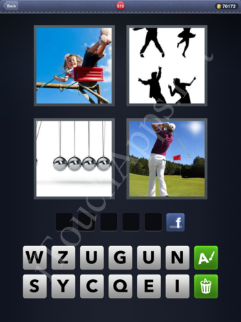 4 Pics 1 Word Level 575 Solution