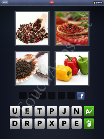 4 Pics 1 Word Level 592 Solution