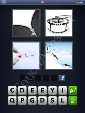 4 Pics 1 Word Level 602 Solution