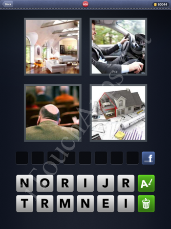 4 Pics 1 Word Level 608 Solution
