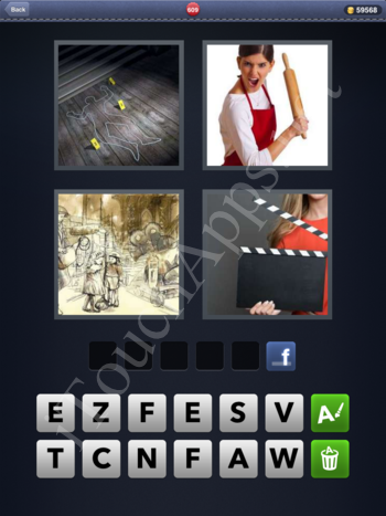 4 Pics 1 Word Level 609 Solution