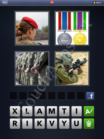 4 Pics 1 Word Level 610 Solution