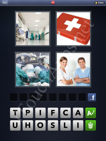 4 Pics 1 Word Level 615 Solution