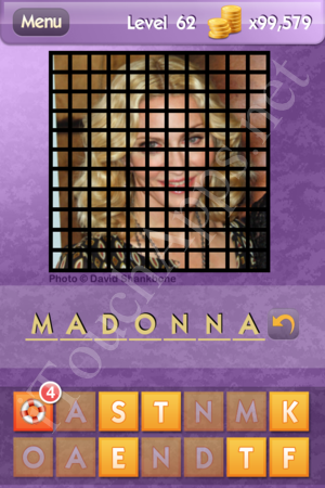 Who's the Celeb Level 62 Answer
