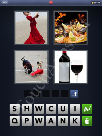 4 Pics 1 Word Level 622 Solution