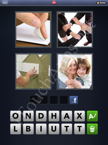 4 Pics 1 Word Level 623 Solution