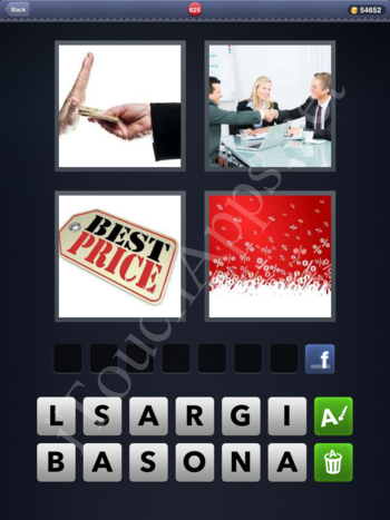 4 Pics 1 Word Level 625 Solution