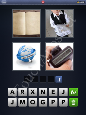 4 Pics 1 Word Level 626 Solution