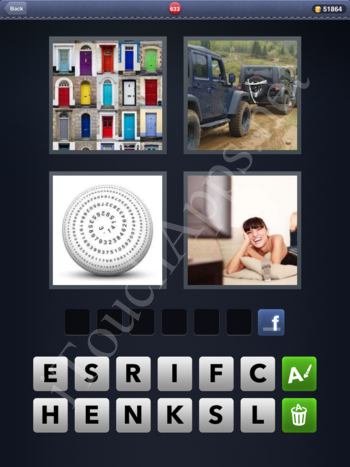 4 Pics 1 Word Level 633 Solution