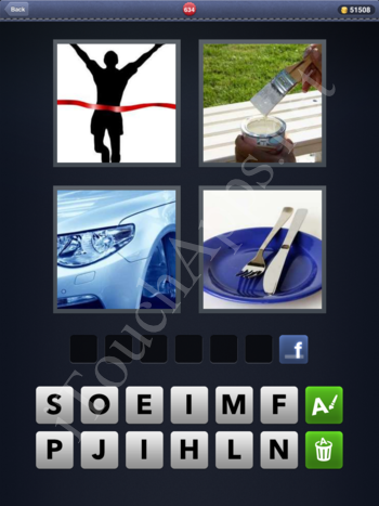 4 Pics 1 Word Level 634 Solution