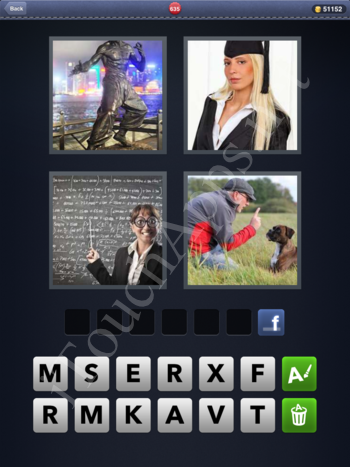 4 Pics 1 Word Level 635 Solution