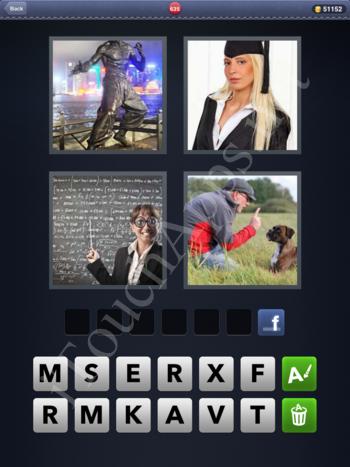4 Pics 1 Word Level 635 Solution