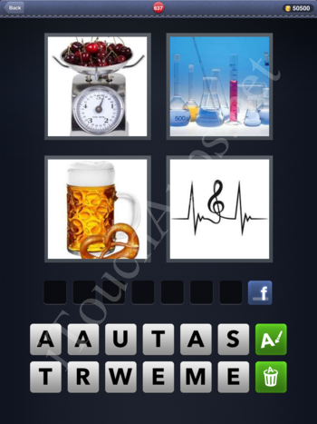 4 Pics 1 Word Level 637 Solution