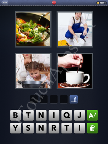 4 Pics 1 Word Level 643 Solution