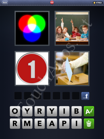 4 Pics 1 Word Level 645 Solution
