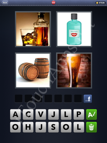 4 Pics 1 Word Level 646 Solution