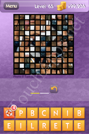 Who's the Celeb Level 65 Answer