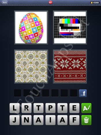 4 Pics 1 Word Level 657 Solution