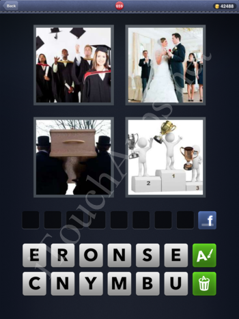 4 Pics 1 Word Level 659 Solution