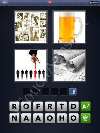 4 Pics 1 Word Level 668 Solution