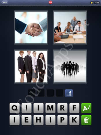 4 Pics 1 Word Level 674 Solution