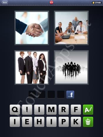 4 Pics 1 Word Level 674 Solution