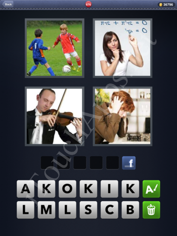 4 Pics 1 Word Level 676 Solution