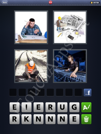 4 Pics 1 Word Level 679 Solution