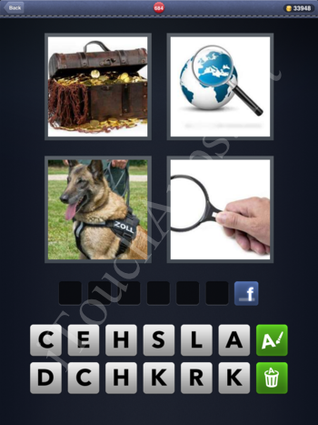 4 Pics 1 Word Level 684 Solution