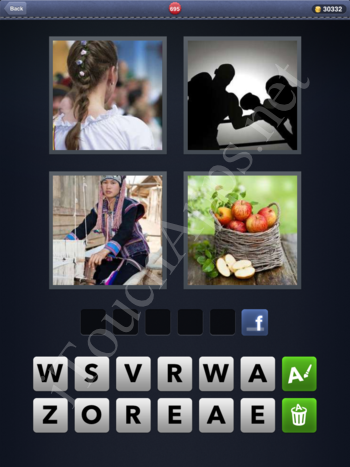 4 Pics 1 Word Level 695 Solution