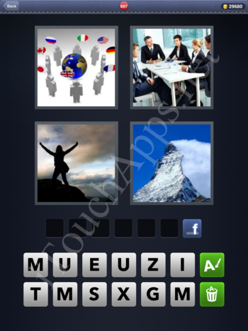 4 Pics 1 Word Level 697 Solution