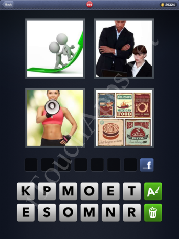 4 Pics 1 Word Level 698 Solution