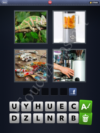 4 Pics 1 Word Level 702 Solution