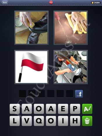 4 Pics 1 Word Level 713 Solution
