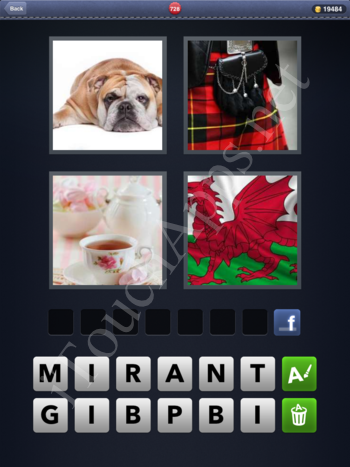 4 Pics 1 Word Level 728 Solution