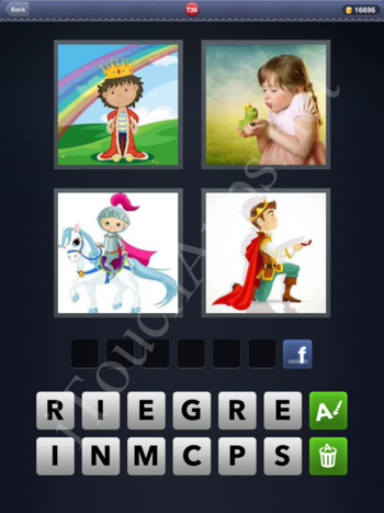 4 Pics 1 Word Level 736 Solution