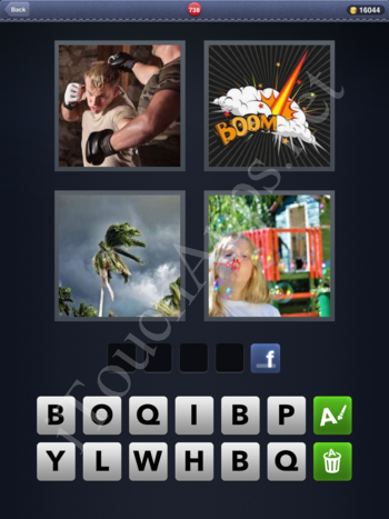 4 Pics 1 Word Level 738 Solution