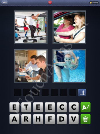 4 Pics 1 Word Level 741 Solution