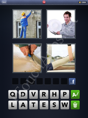 4 Pics 1 Word Level 748 Solution