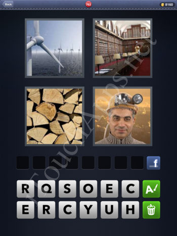 4 Pics 1 Word Level 762 Solution